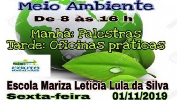 Couto Magalhães realiza 3ª edição do Seminário de Meio Ambiente, na próxima sexta 01