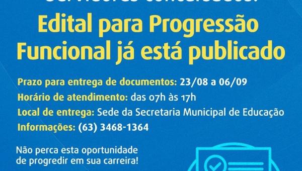 Prefeitura de Couto Magalhães publica edital para Progressão Funcional dos Servidores Públicos concursados