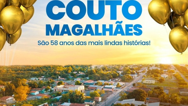 Couto Magalhães 58 anos